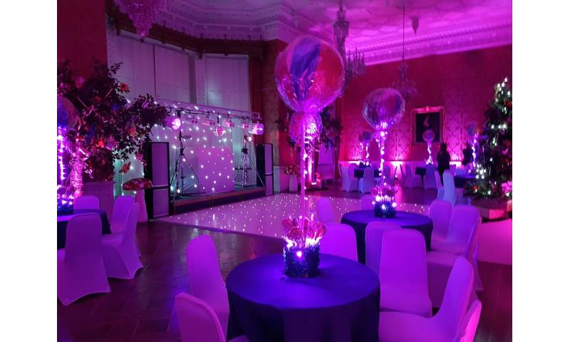 White Gold Rig with mirrorball, Starlit dance floor and uplighters 2.jpg
