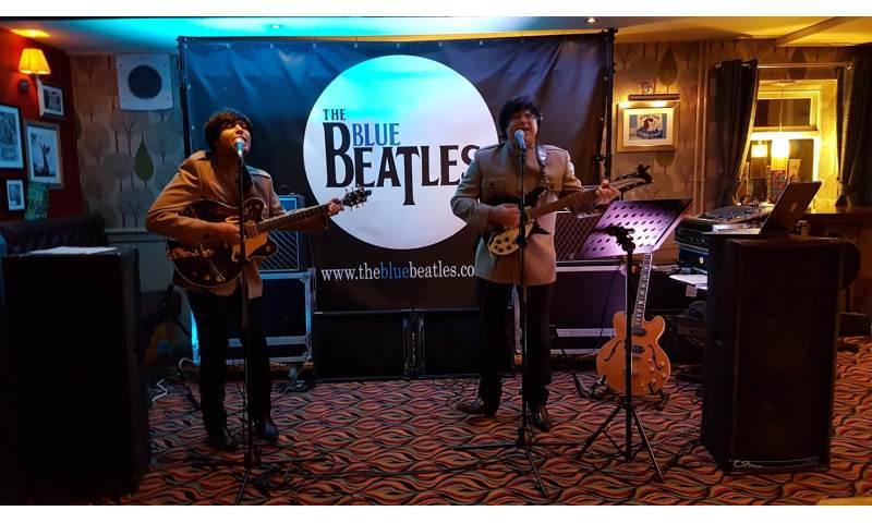 The Blue Beatles Duo performing in Nehru jackets 2.jpg