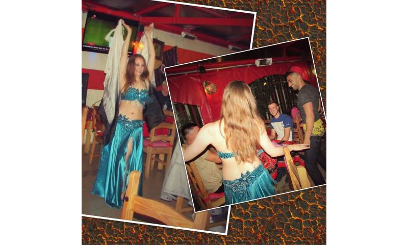 Doe Demure belly dance