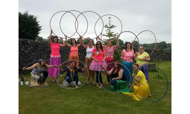 Doe Demure hula hoop workshop