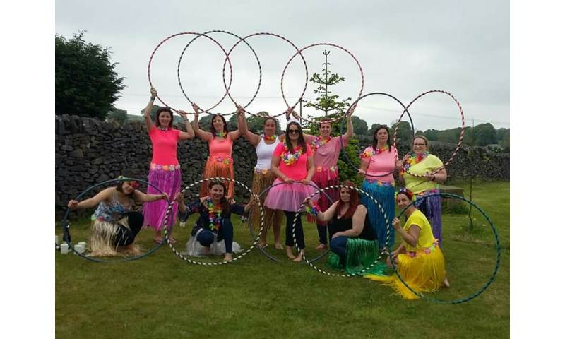 Doe Demure hula hoop workshop
