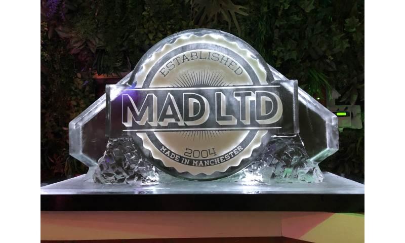 Mad Logo Double Ice Luge