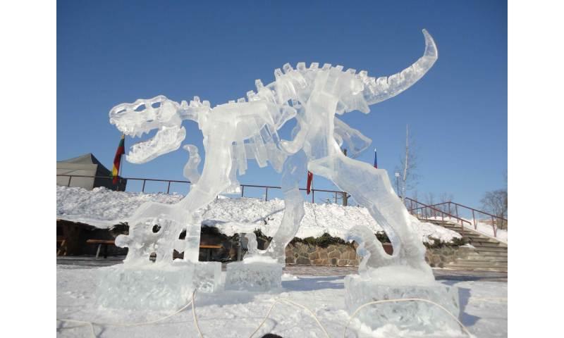 Dino Sculpture