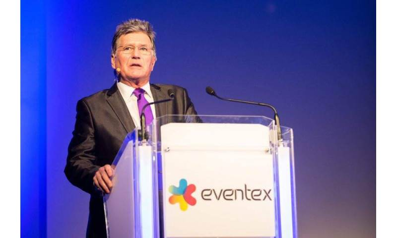 Hosting eventex (European Agents & Event Organisers' awards), Croke Park, Dublin, 2017.