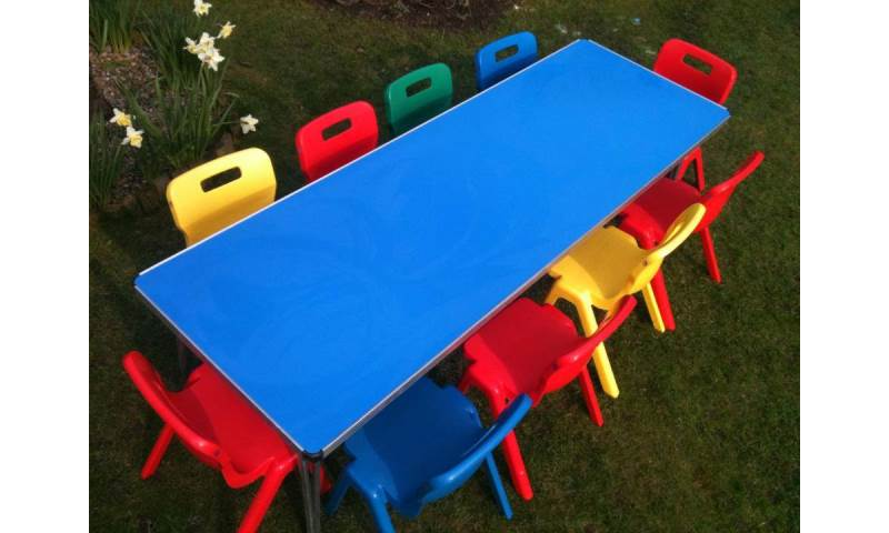 Children's Table & Chair Hire