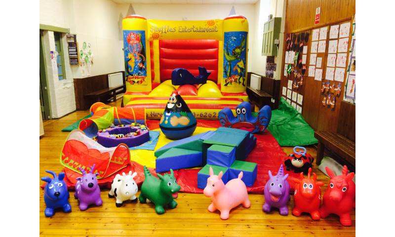 Soft Play Hire With Inflatable