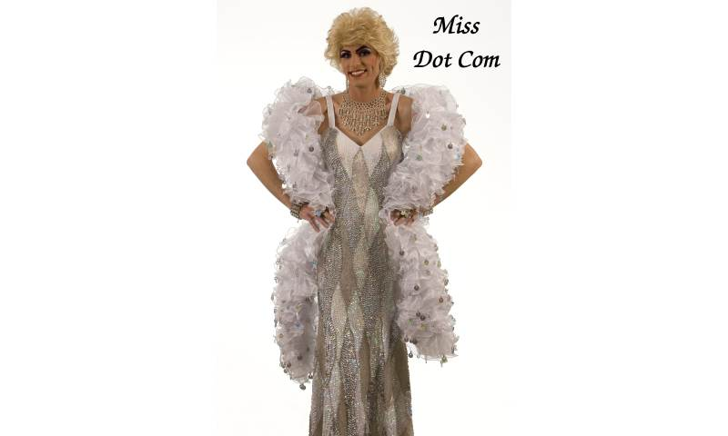Miss Dot Com Drag Queen Kent
