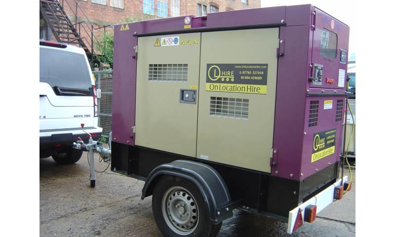 Super silent 40kva generator