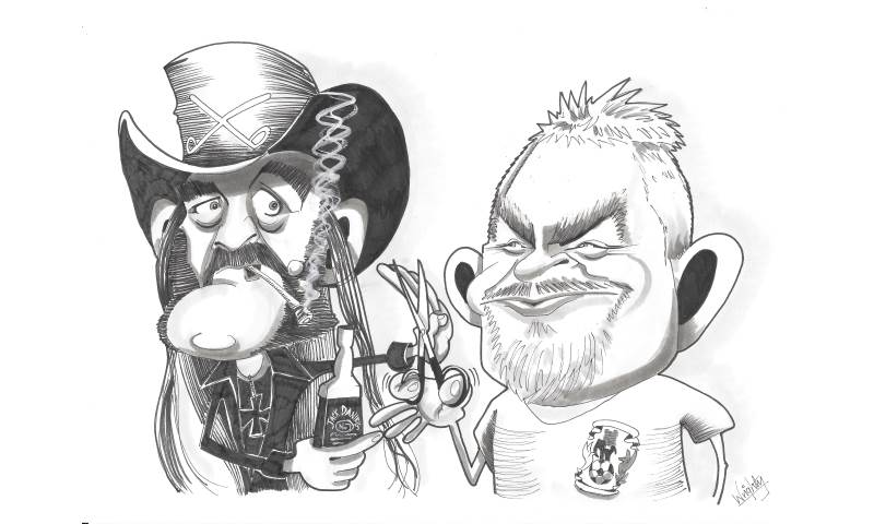 Lemmy and friend by Mick Wright Caricatures.jpeg