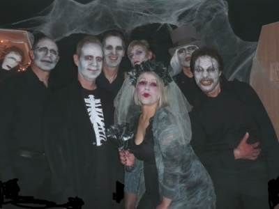 Live Band hired for Horror Movies Theme 40th Birthday Party