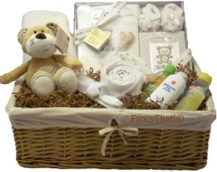 Unisex baby gift hamper