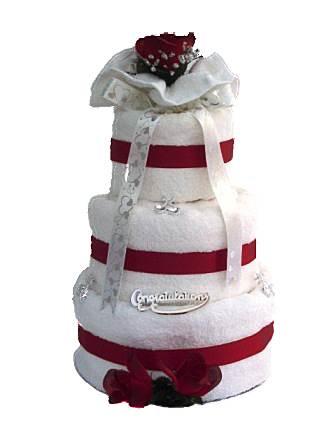Wedding Towel cake