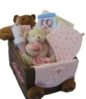 Teddy bear gift hamper