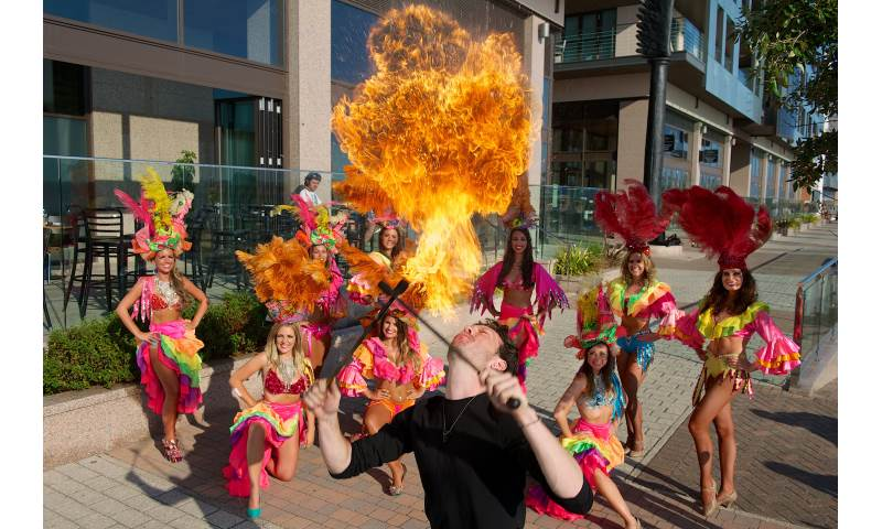 Fire Samba Show! High Octane, captivating and very hot!