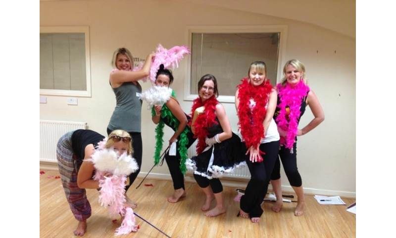 Burlesque Hen Party Cardiff May 2015.JPG