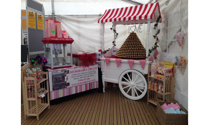 Candy Cart, Popcorn and Candy Floss Lincolnshire Show