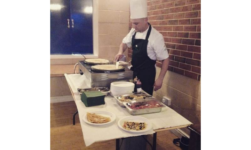 Crepes at a Private 40th