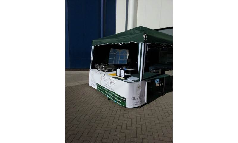 One of Our Mobile Bbq Set Ups