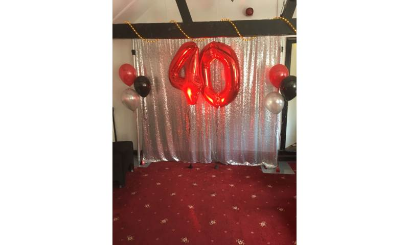 Sequin backdrop hire in Hertfordshire, Bedfordshire, Essex & surrounding areas. Perfect for birthdays or corporate events