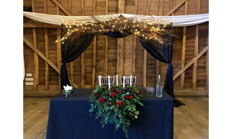 Twilight Willow Themed Backdrop hire in Hertfordshire, Bedfordshire, Essex & surrounding areas.