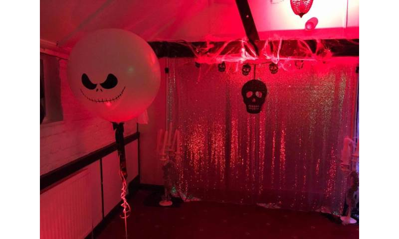 Halloween themed decor hire in Hertfordshire, Bedfordshire, Essex & surrounding areas.