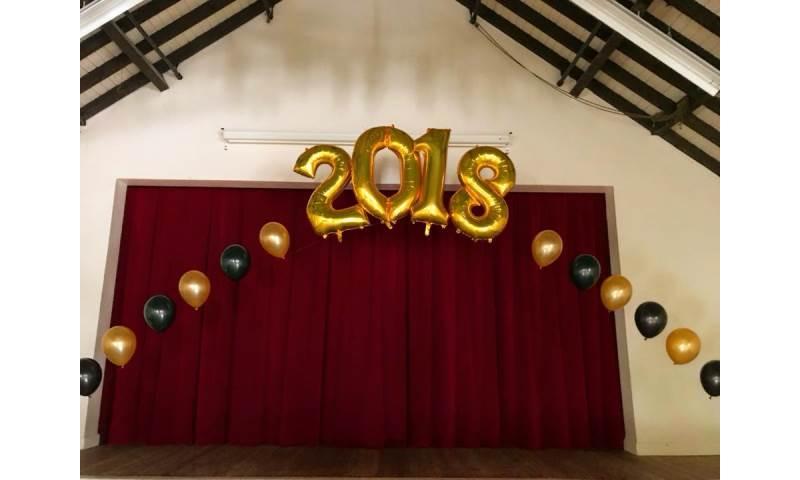 Prom Balloon Arch in Hertfordshire, Bedfordshire, Essex & surrounding areas.