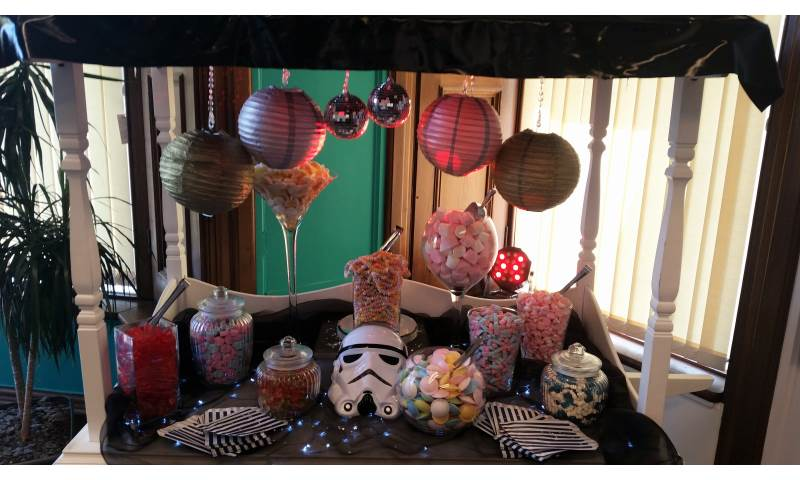 Star Wars Themed Candy Cart hire in Hertfordshire, Bedfordshire, Essex & surrounding areas.
