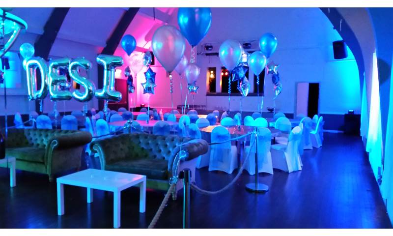 Party decor hire in Hertfordshire, Bedfordshire, Essex & surrounding areas.