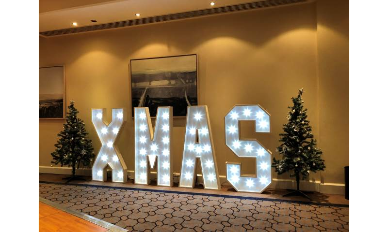 4ft Light Up Letter hire in Hertfordshire, Bedfordshire, Essex & surrounding areas.