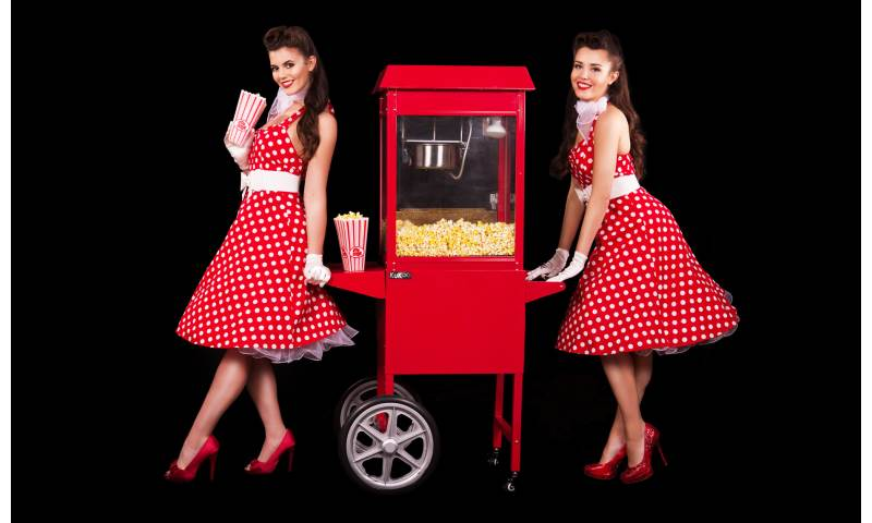 Popcorn machine hire in Hertfordshire, Bedfordshire, Essex & surrounding areas. Perfect for weddings, birthdays & corporate events