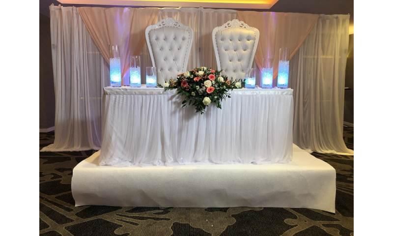 Wedding decor in Hertfordshire, Bedfordshire, Essex & surrounding areas.