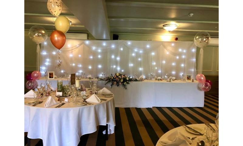Starlight backdrop hire in Hertfordshire, Bedfordshire, Essex & surrounding areas.