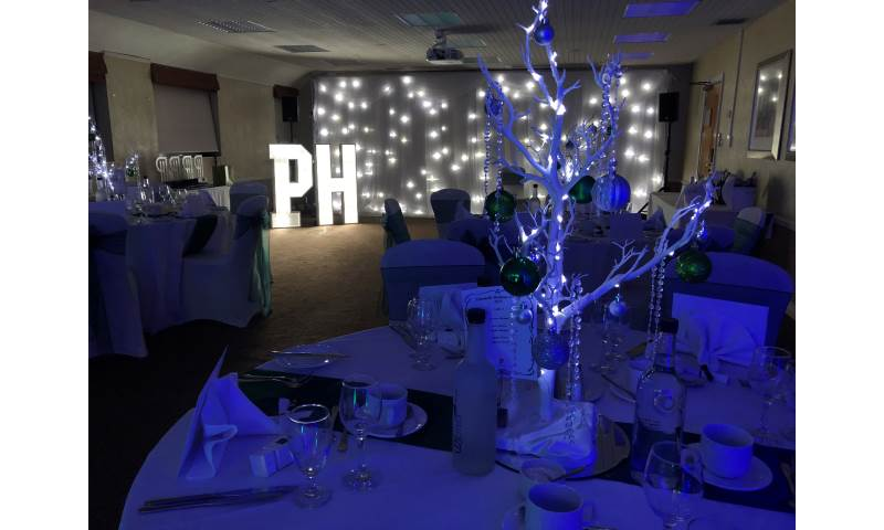 Winter Wonderland venue styling in Hertfordshire, Bedfordshire, Essex & surrounding areas. Perfect for birthdays or corporate events