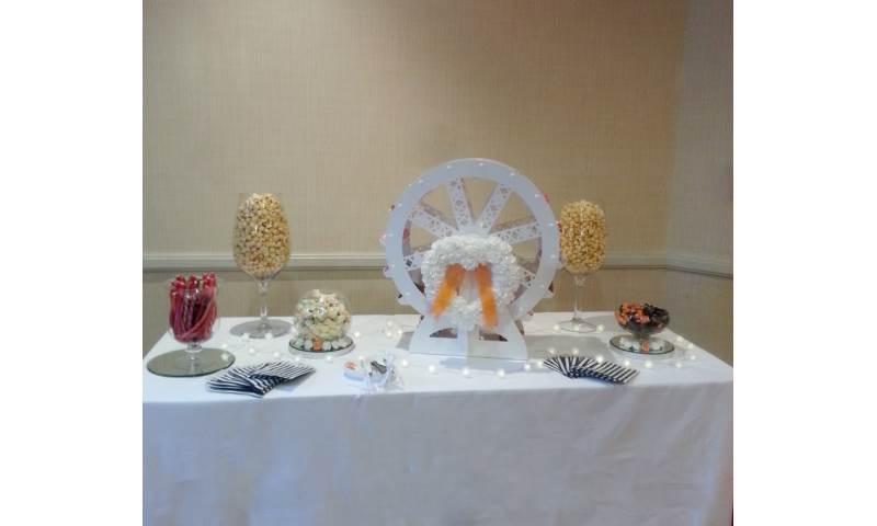 Sweet ferris wheel hire in Hertfordshire, Bedfordshire, Essex & surrounding areas.