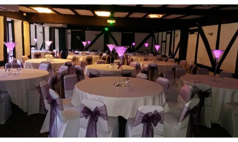Venue Decor hire in Hertfordshire, Bedfordshire, Essex & surrounding areas.