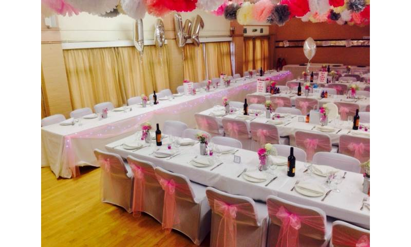Party decor hire in Hertfordshire, Bedfordshire, Essex & surrounding areas. Perfect for weddings, birthdays & corporate events