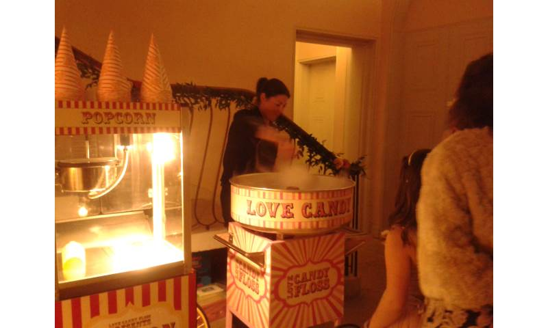 Circus Party | Candy Floss and Popcorn