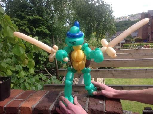 Balloon Ninja Turtle