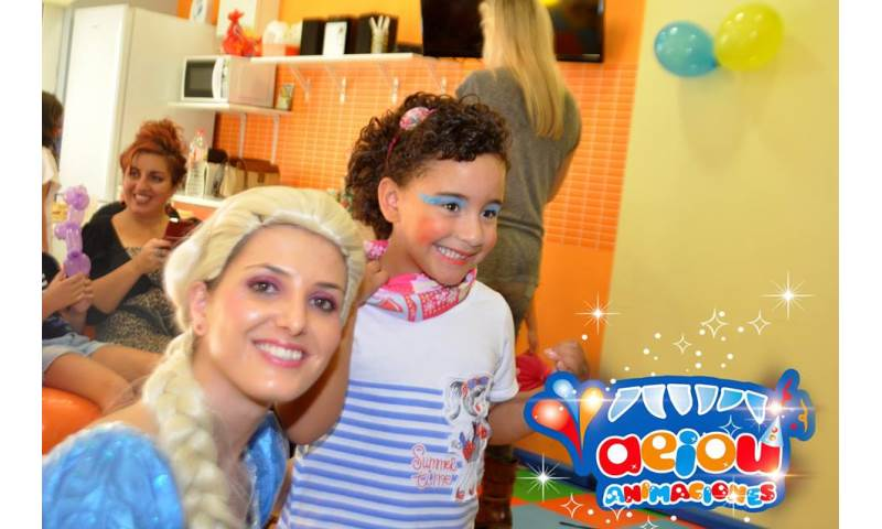 Children Entertainment for Parties AEIOU Frozen