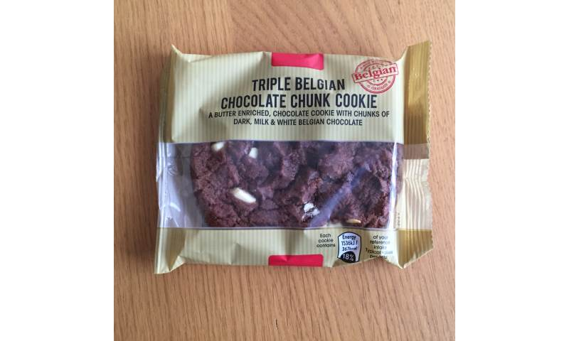 Triple Belgian Chocolate Cookie