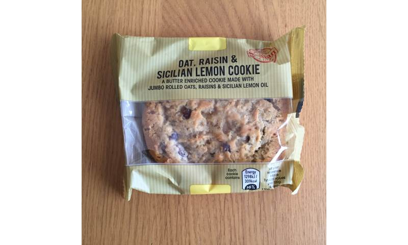Oat, Raisin & Sicilian Lemon Cookie