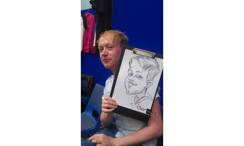 Students Event Caricature