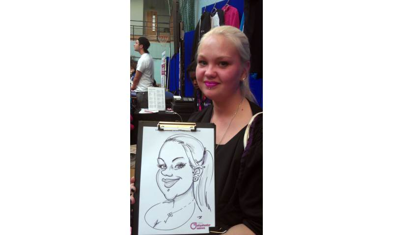 Caricature of a Girl