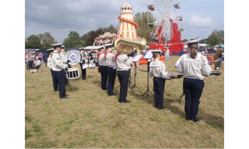 Performing Static at Frampton Country Show