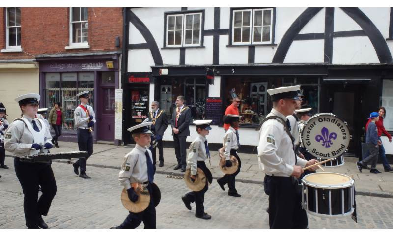 2017 St. Georges Day Parade in Gloucester