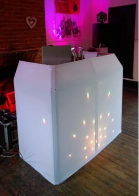 white console backlit, SILENT DISCO KENT