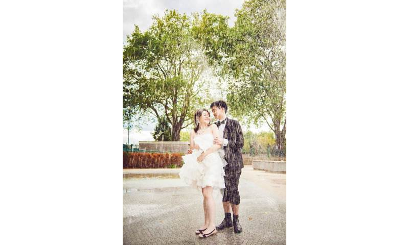 Pre-wedding day shoot in Putney Bishops Park London. Engagement and  wedding photography, videography, make up hair service.jpg