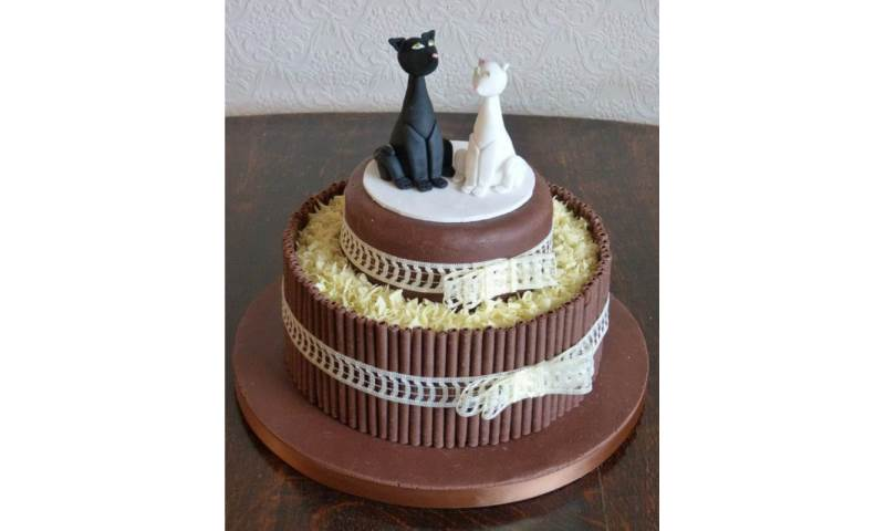 Wedding Cake - Cats