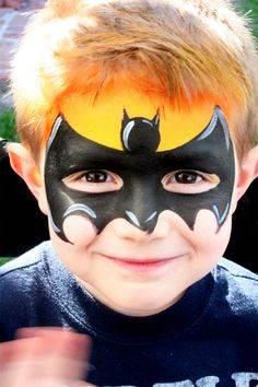 Face paint Batman.JPG