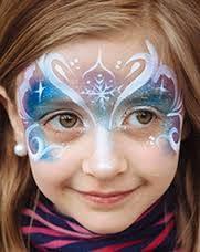 Face paint Frozen pink blue.jpg
